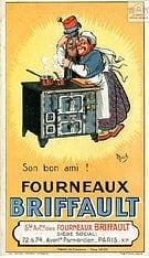 1930 Les fourneaux Briffault Paris