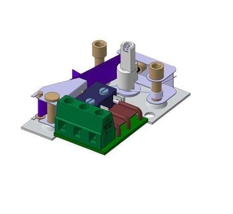 Miniature Mechanical Humidistat Module For Incorporation 30 100 Relative Humidity Range Jpc France