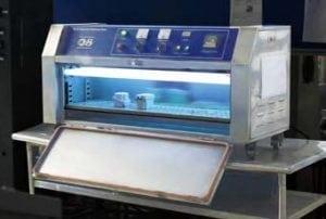 équipement d'essai de vieilissement aux UV des boitiers métalliques