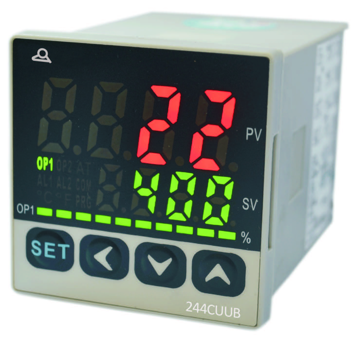 48 X Intelligent Pid Temperature Controller Double Display Complete Package Thermocouple Probe Ssr Reduced